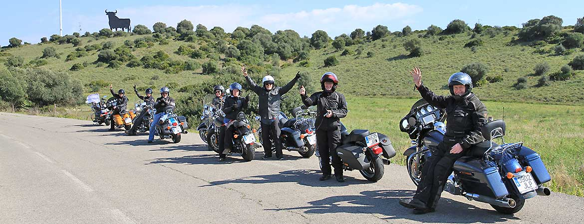 KeaRider Motorcycle Bike Tour Andalucia
